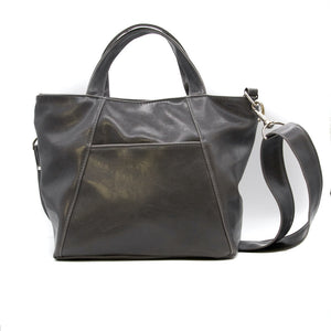 MINI TROUBADOUR TOTE - GREY