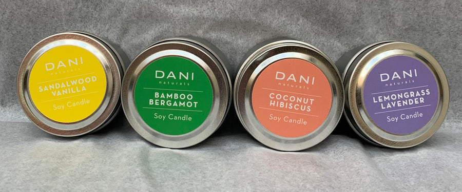 Dani Scented Soy Candle Tin 6 oz
