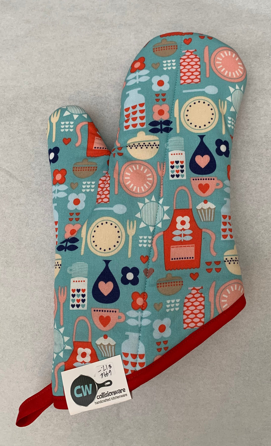 Oven Mitts by Collisionware