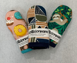 Skillet Mitts by Collisionware