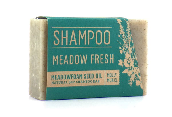 MEADOW FRESH (MEADOWFOAM SEED OIL) 5OZ SHAMPOO BAR