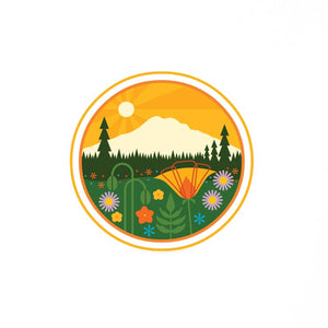 Mt Rainier Sticker
