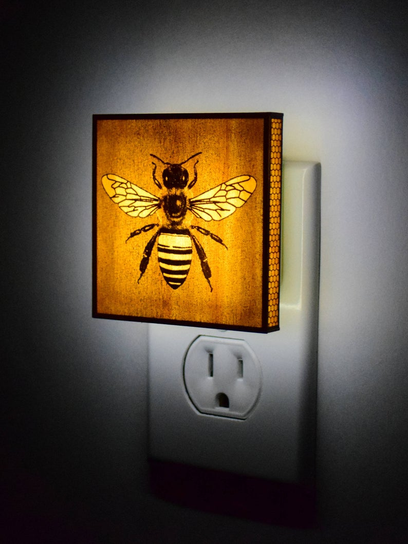 Boydesigns Bee Deluxe Night Light