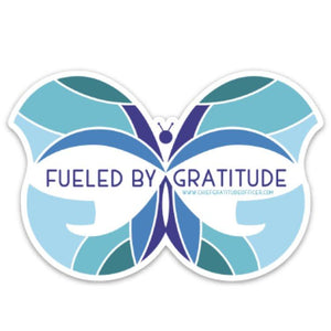 Chief Gratitude Officer Stickers
