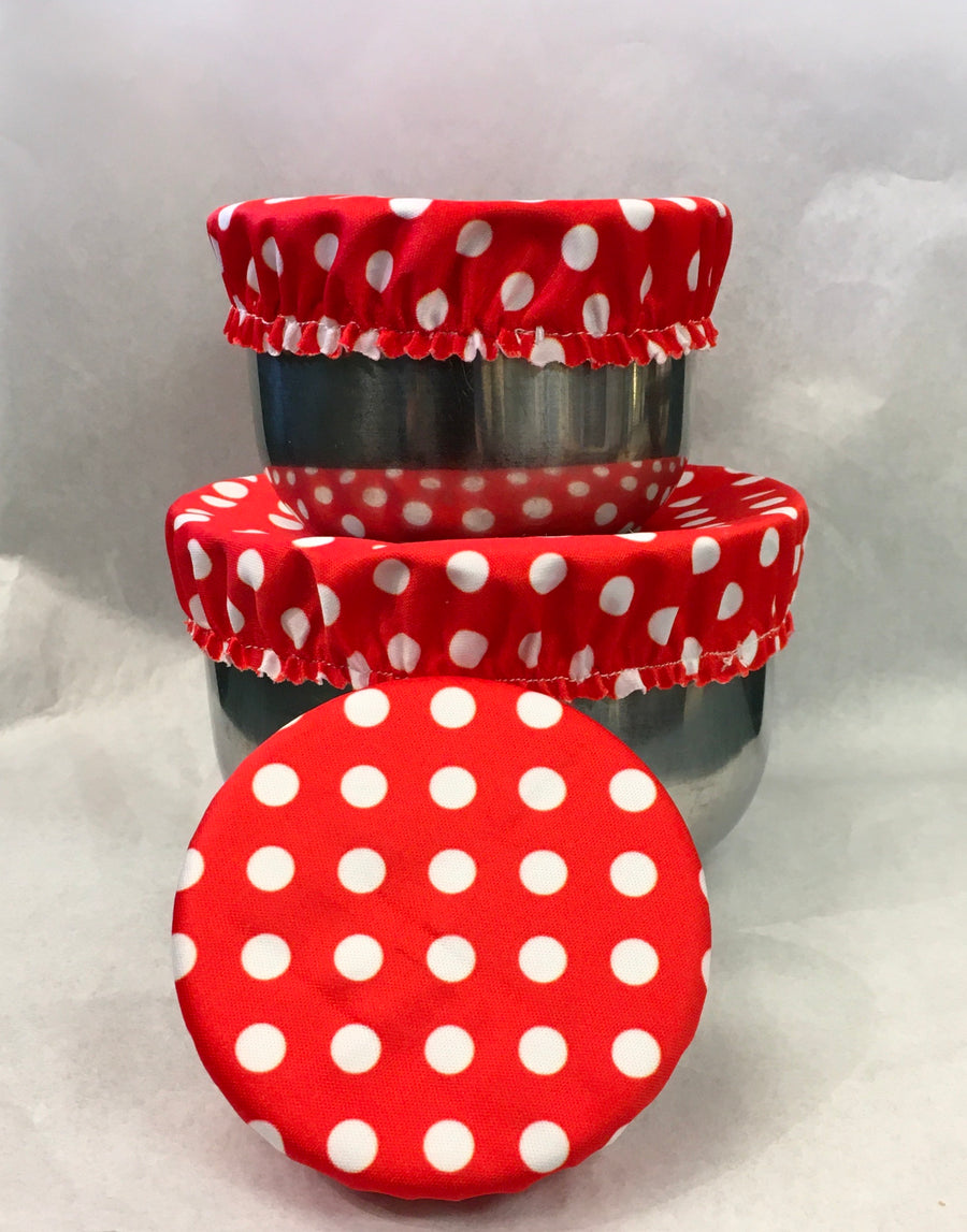 Mini Reusable Bowl Cover Set