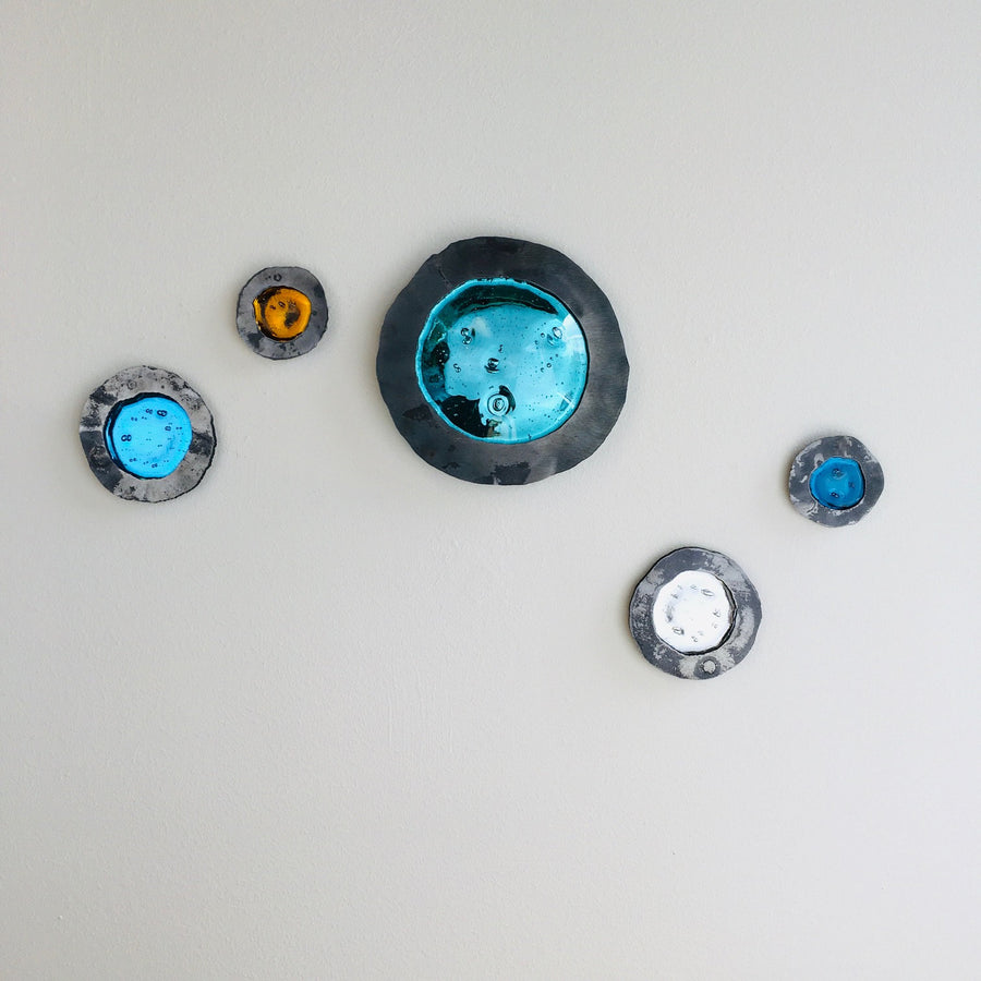 Large Glass Buttons by Myorian Studio