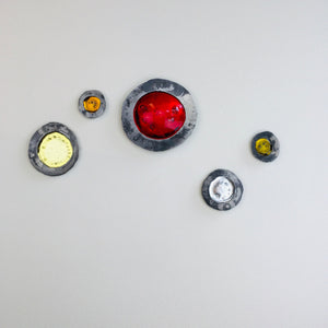 Small Glass Buttons by Myorian Studio