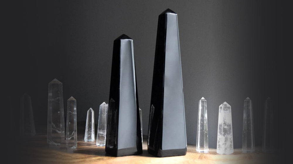 Standing Crystal Points