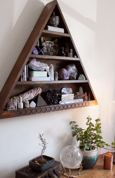 The Moon Phase Everything Triangle Shelf Pyramid