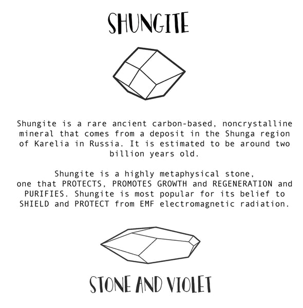 shungite emf protection computer radiation properties metaphysical