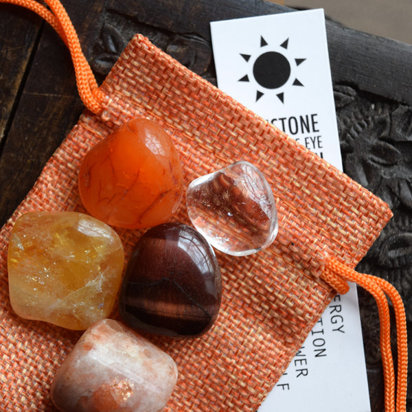 SUN - Crystal Set with Card and Pouch