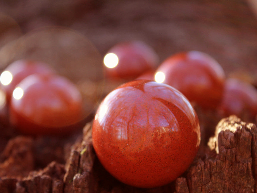 Red Jasper Sphere - 40mm