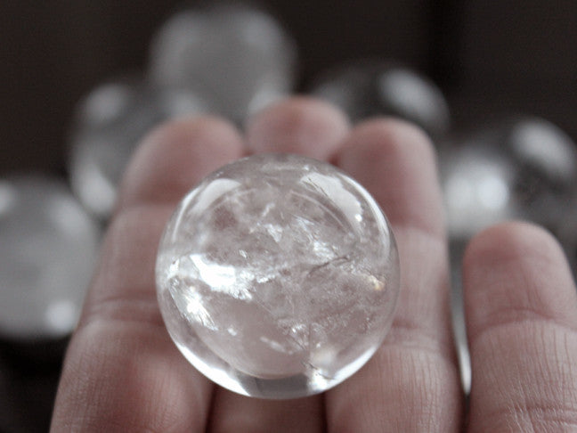 Natural Quartz Sphere