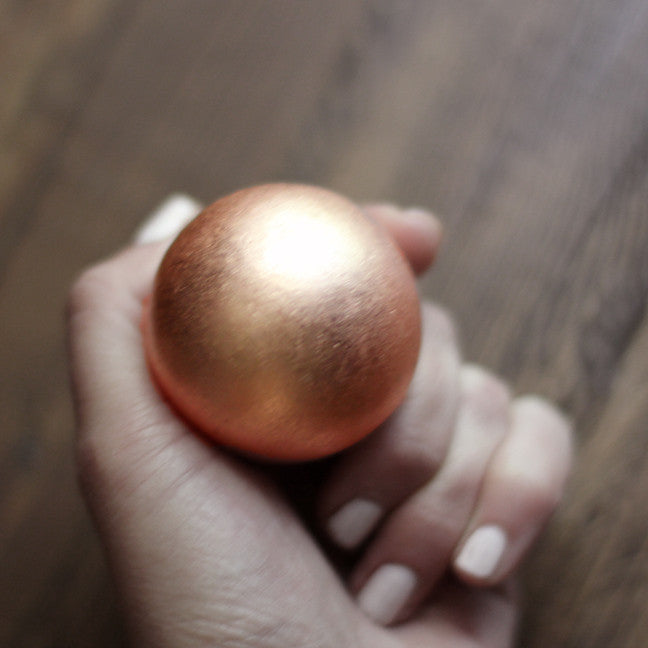 Solid Copper Sphere - Various Sizes to Choose From