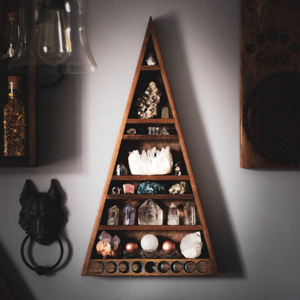 "The Mama Moon Phase Shelf - Style B - 23"" tall"