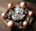 Shungite Charging Board and Sphere Stand