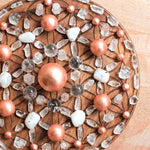 Mini Solid Copper Spheres - Set of 6