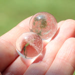 Set of 11 Natural Quartz Spheres