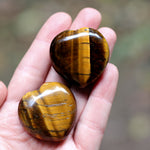 Tigers Eye Heart
