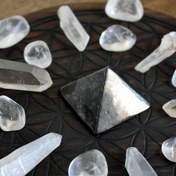 12 Clear Quartz Tumbled Stones