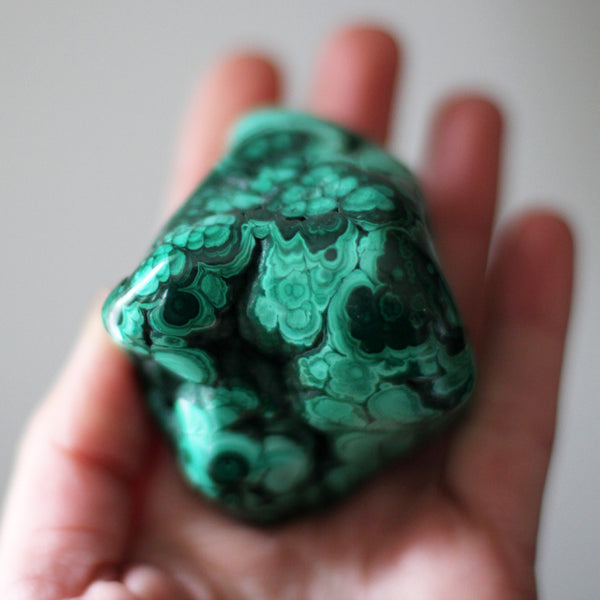 Large Malachite Freeform 284gms