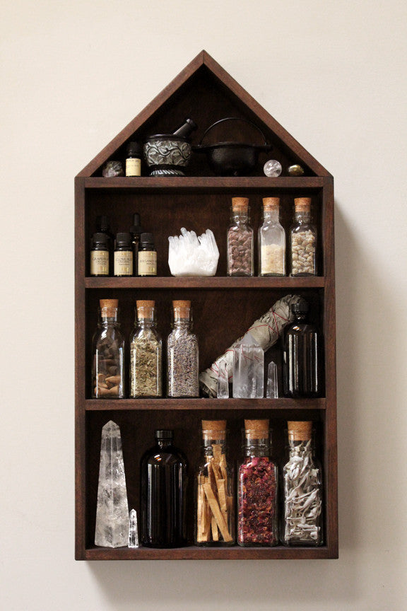 The House of Apothecary Shelf