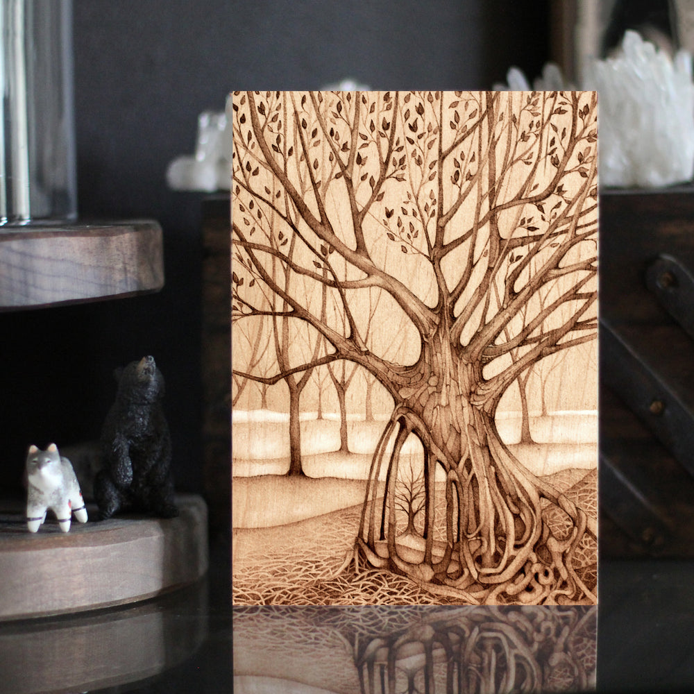 "Tree Postcard 5"" x 7"" Print Set - SIGNED"