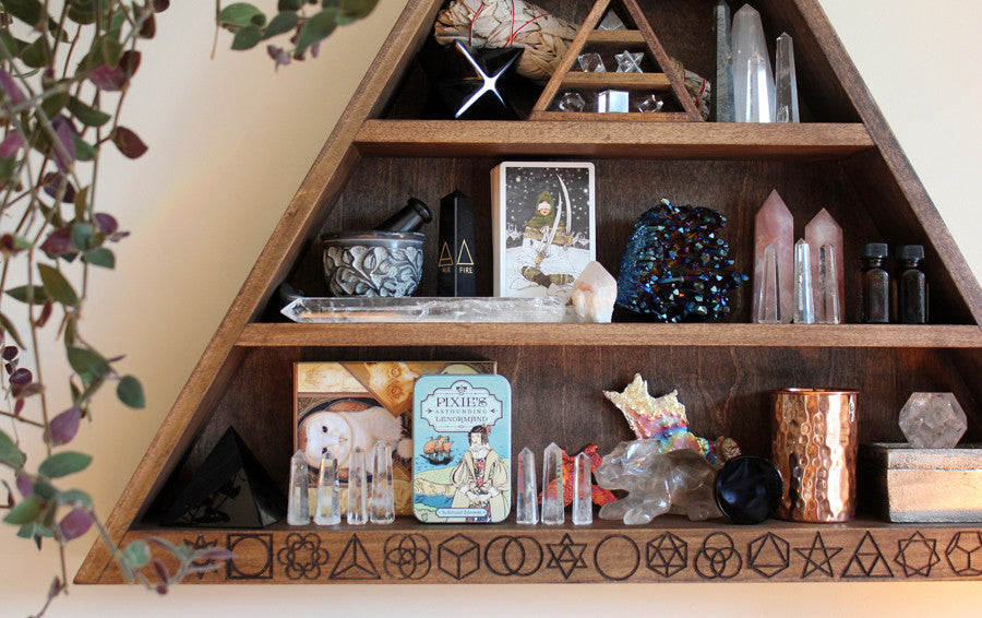 The Sacred Geometry EVERYTHING Shelf