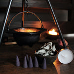 Cauldron and Tripod Magical Workings Set