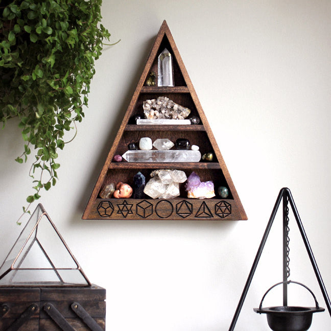 The Original Sacred Geometry Shelf