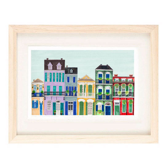 NEW ORLEANS ILLUSTRATION GICLEE ART PRINT BY ANNA SEE