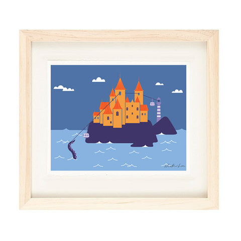 CASTLE PRINT BY NICK LU