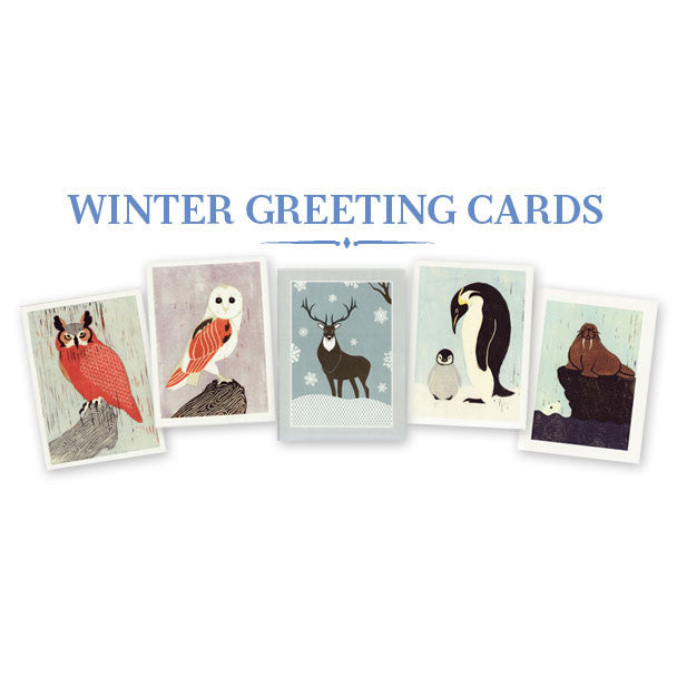 ANNA SEE + MASALA CARDS COLLABORATION WINTER GREETING CARD