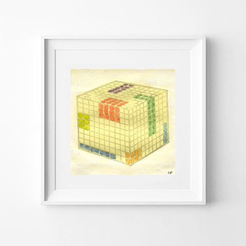 Cube 1 BY SHANNON FRESHWATER