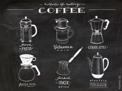 GUIDE TO METHODS OF MAKING COFFEE ART PRINT (BLACK) BY ANNA SEE