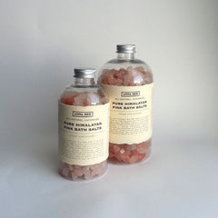 ALL-NATURAL, HANDMADE, PURE HIMALAYAN PINK BATH SALTS,  MADE EXCLUSIVELY FOR ANNA SEE