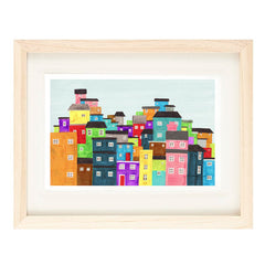 RIO DE JANEIRO, BRAZIL ILLUSTRATION GICLEE ART PRINT BY ANNA SEE