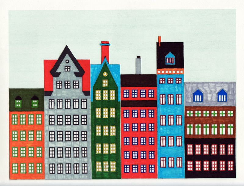 graphic about Printable Buildings titled Do-it-yourself SCANDINAVIAN Constructions AND Residences PRINTABLE Instance