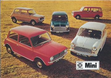 Mini 850/1000, Clubman Estate, Clubman Saloon & 1275 GT