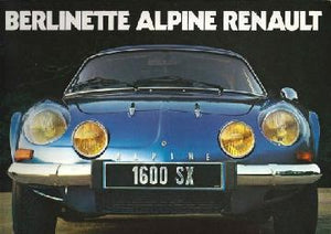 Berlinette Alpine Renault