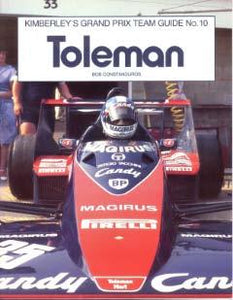 Kimberley�s Grand Prix Team Guide No.10  - Toleman