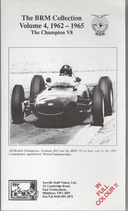 The BRM Collection 1962 - 1965
