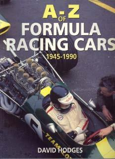 A-Z of Formula Racing Cars 1945 - 1990