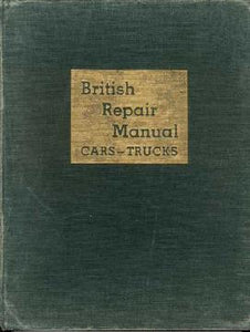 British Repair Manual CARS - TRUCKS Vol.III