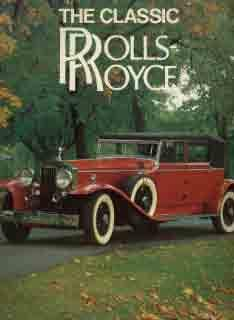 The Classic Rolls-Royce