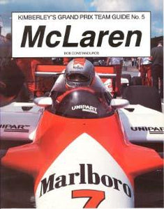 Kimberley�s Grand Prix Team Guide No.5 - McLaren