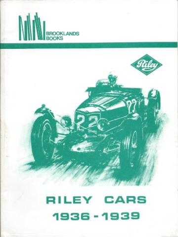 Riley Cars 1936 - 1939
