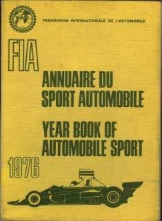 Annuaire de Sport Automobile / Year book of Automobile Sport 1976