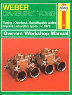 Weber Carburettors Owners Workshop Maunal