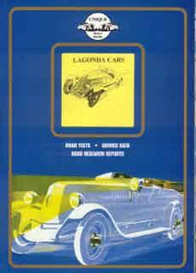 Lagonda Cars - Road Test, Service Data, Road Research Reports